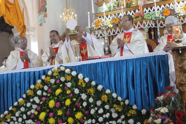 The Annual Feast of Milagres Cathedral celebrated with devotion and fervour