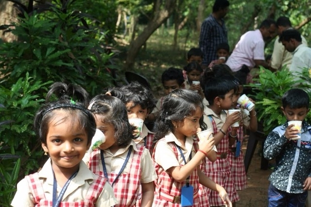 The memorable beautiful experience of Milagres Kindergarten school tiny tots on picnic