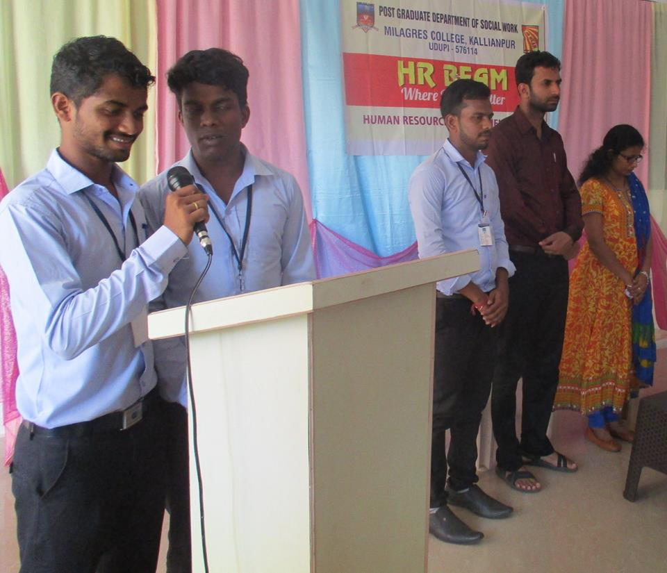 Guest talk on payroll process at Milagres College