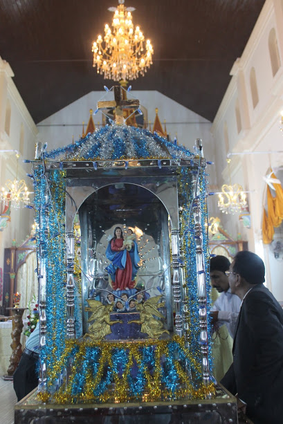 The Vespers Day observed at Milagres Kathedral, Kallianpur
