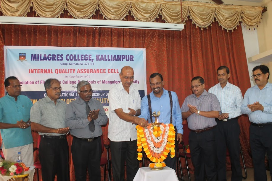 NAAC for college is compulsion but not option - Prof. Mahesh Rao at Milagres College, Kallianpur