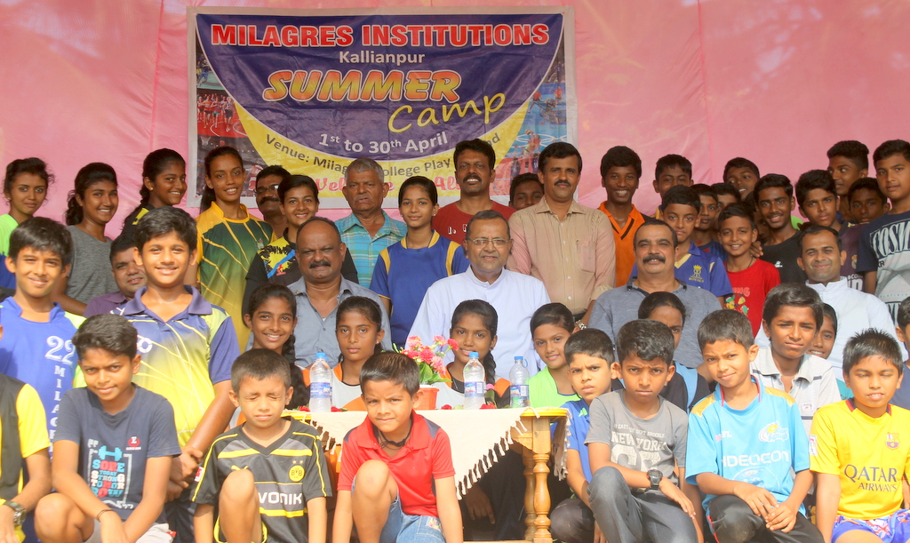 "Milagres Campus Kallianpur inaugurates sports ""Summer Camp 2018"""