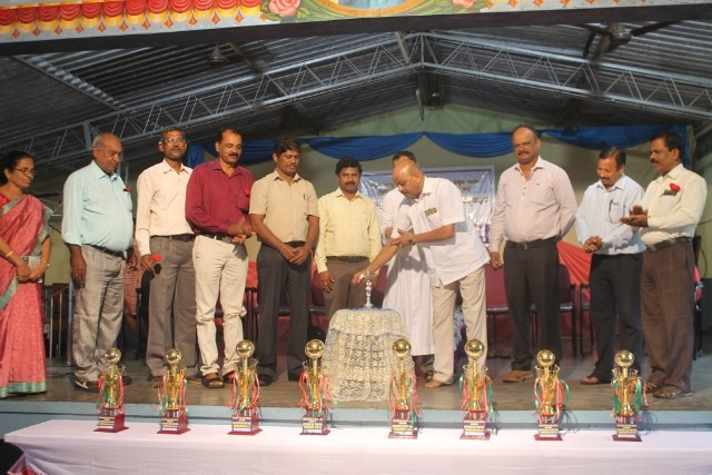 Departmental District level Table Tennis Tournament held at Milagres Eng. Med. School, Kallianpur