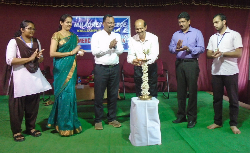 Commerce Association of Milagres College, Kallianpur inaugurated
