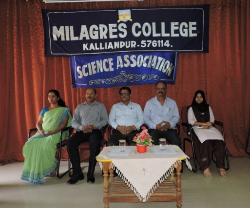 Valedictory programme of Science Asociation at Milagres College, Kallianpur